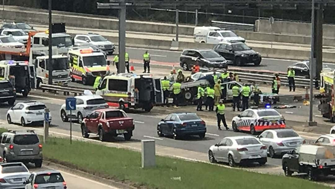 Significant Delays On Then Warringah Freeway After Two Car Accident