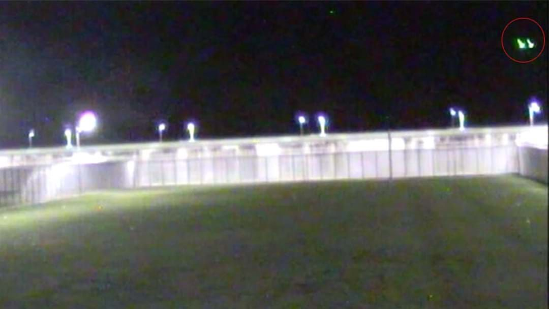 Article heading image for Footage Shows Drone Dropping Contraband Into NSW Prison