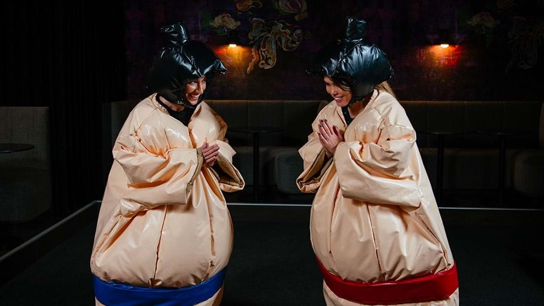 Article heading image for Destroy Your Mates By Sumo Wrestling At A Perth Bar This Month