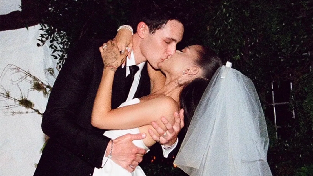 Article heading image for Photos From Ariana Grande & Dalton Gomez's Wedding Are Finally Here!