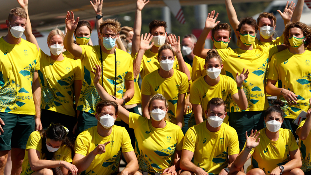 Article heading image for Australia's First Batch Of Aussie Athletes Arrive In Japan Ahead Of Tokyo Olympics