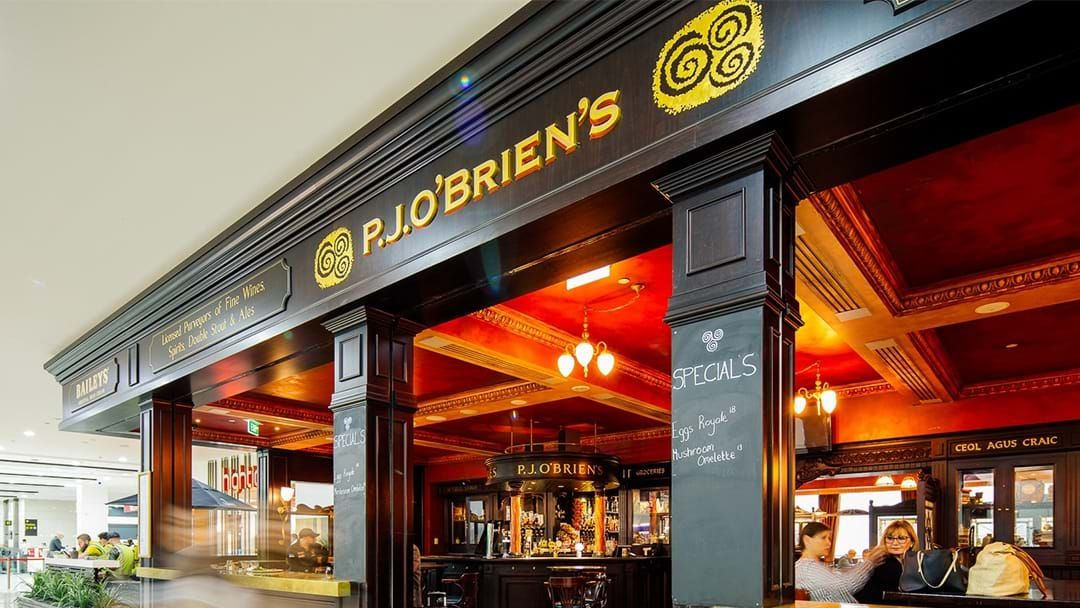 Article heading image for P.J O'Brien's Is Shutting Down At Melbourne Airport
