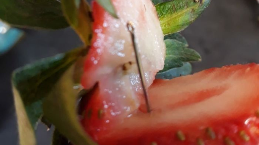 Article heading image for Charges Dropped Against Woman Involved In Strawberry Needles Saga
