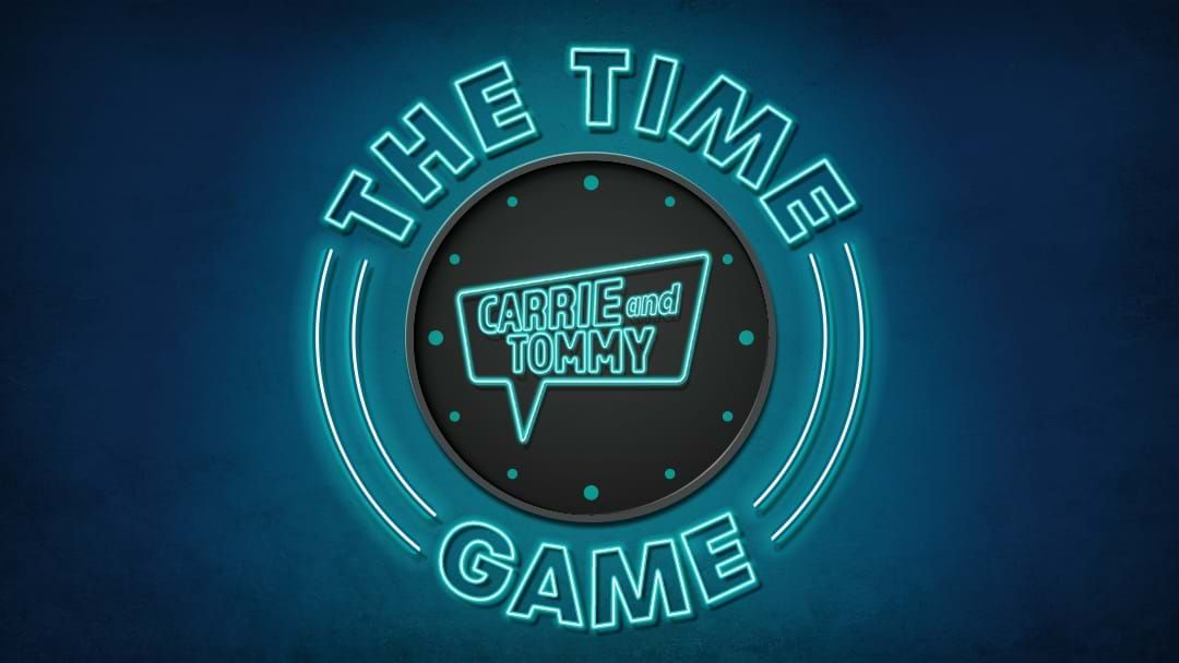 Competition heading image for Your chance to play The Time Game with Carrie & Tommy