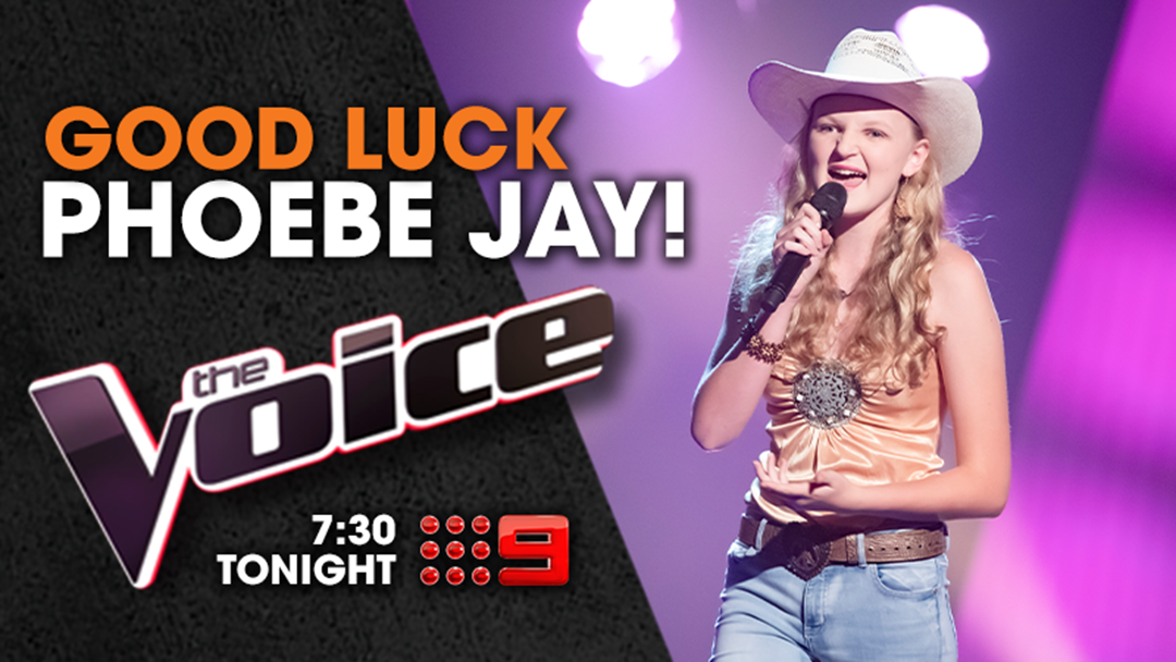 Article heading image for Phoebe Jay Takes on The Voice!