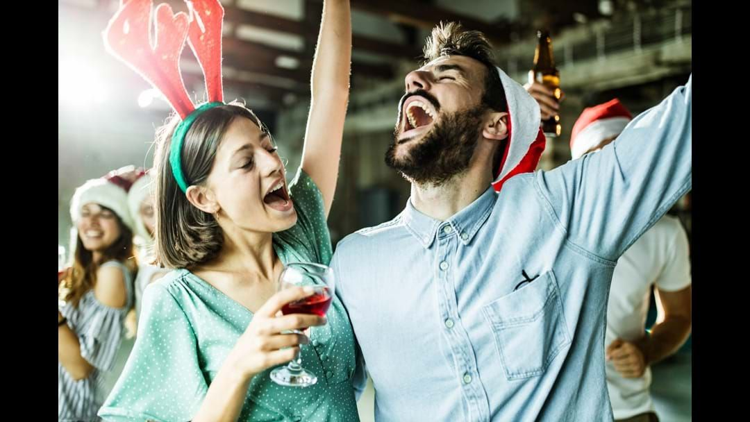 Article heading image for Why Your Staff Christmas Party could be the best time to Hook Up with a Co-Worker