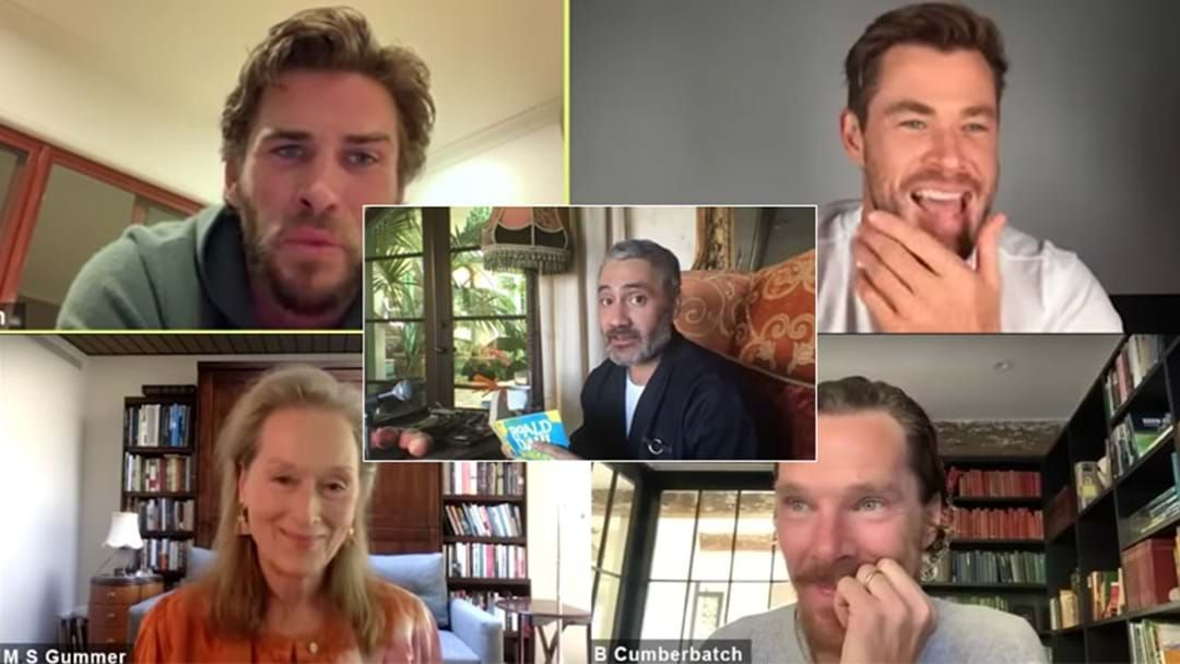 Article heading image for Taika Waititi Brings Together INSANE Cast Of Celebs For Roald Dahl Book Reading