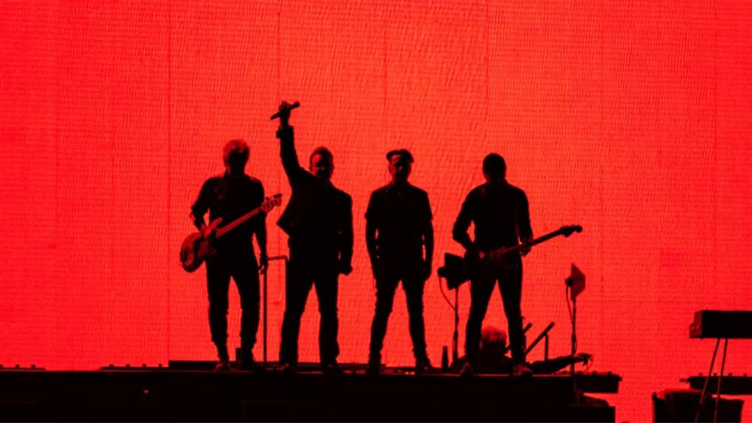 Article heading image for U2's Sneaky Peek Vid From Their Joshua Tree Tour Shows Just How Massive It Really Is