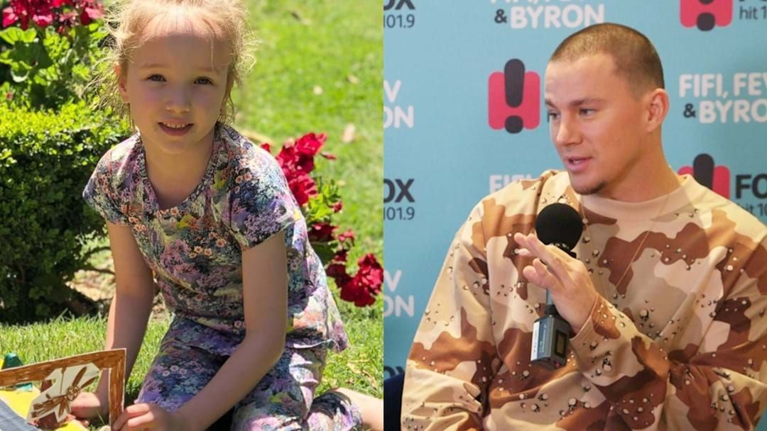 Article heading image for Fifi Box Explains What Happened When Channing Tatum Met Trixie & You Won't Believe It!