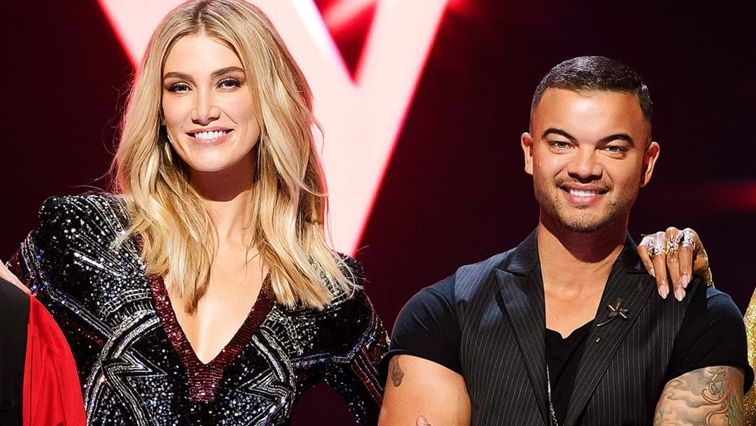 Article heading image for Guy Sebastian Has Revealed That He Used To Date Delta Goodrem