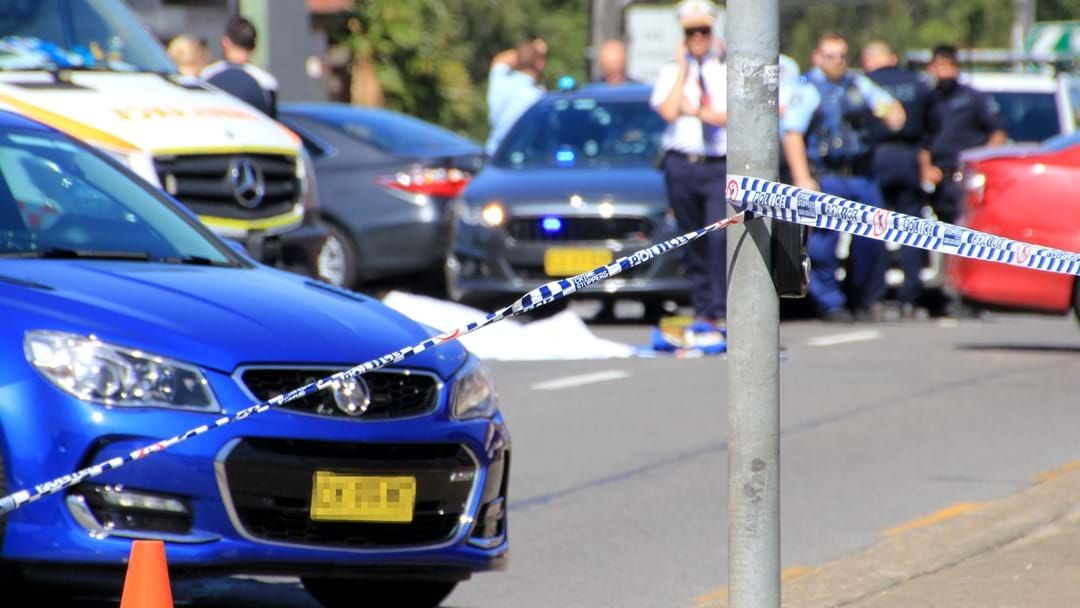 Article heading image for Major Police Operation Underway After Stabbing At Scene Of Car Crash In Sydney's South