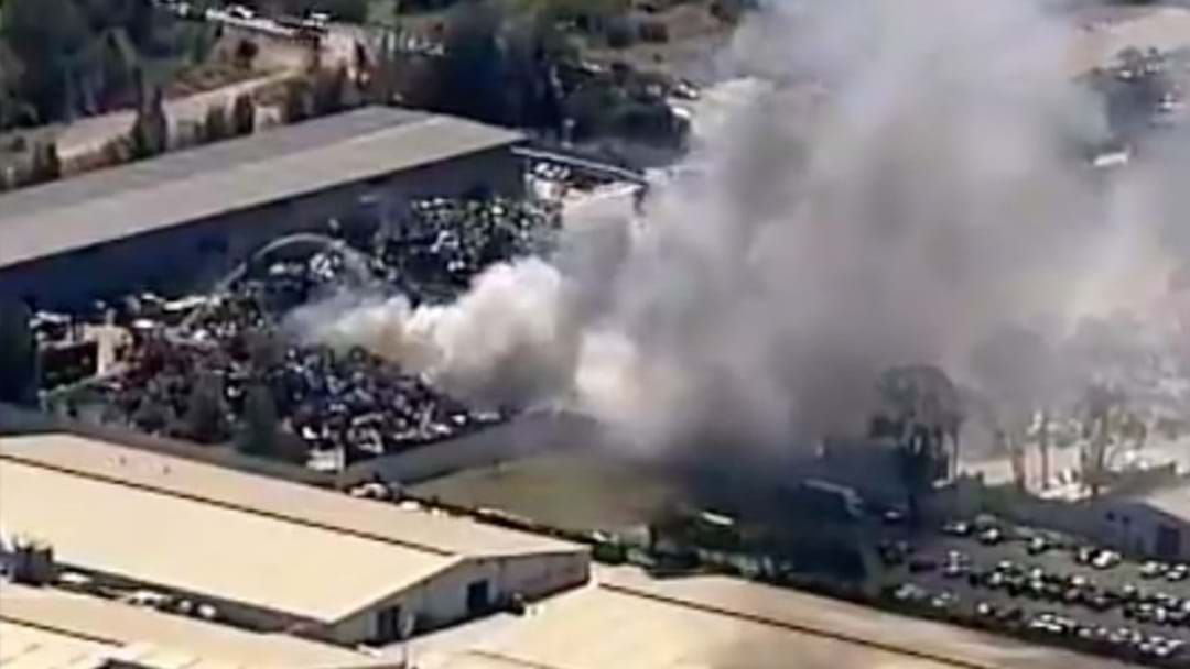 Article heading image for Crews Battling Factory Fire In Western Sydney