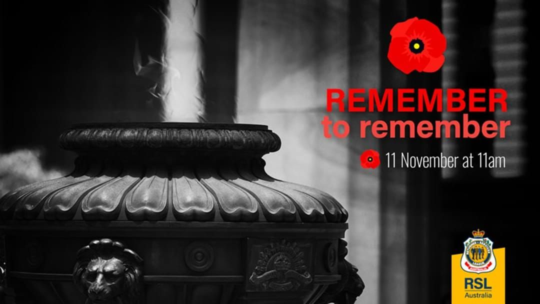 Article heading image for You Can Buy A Virtual Poppy To Commemorate Remembrance Day This Year!