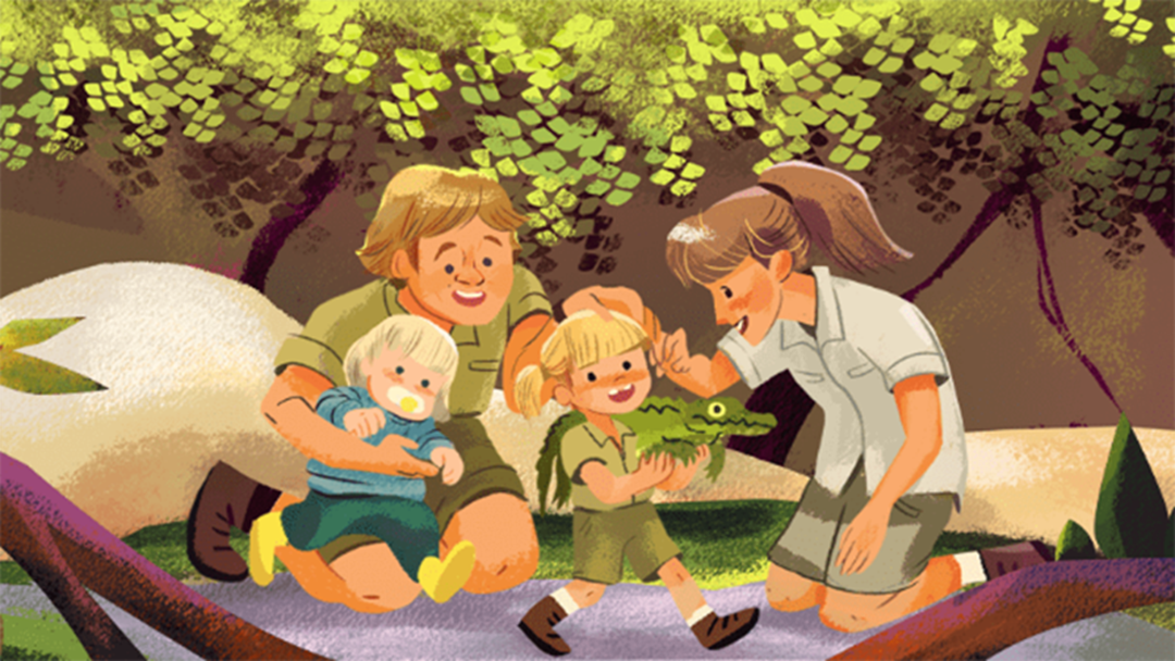 Article heading image for Steve Irwin Is Honoured In Today's Google Doodle On What Would Be His 57th Birthday