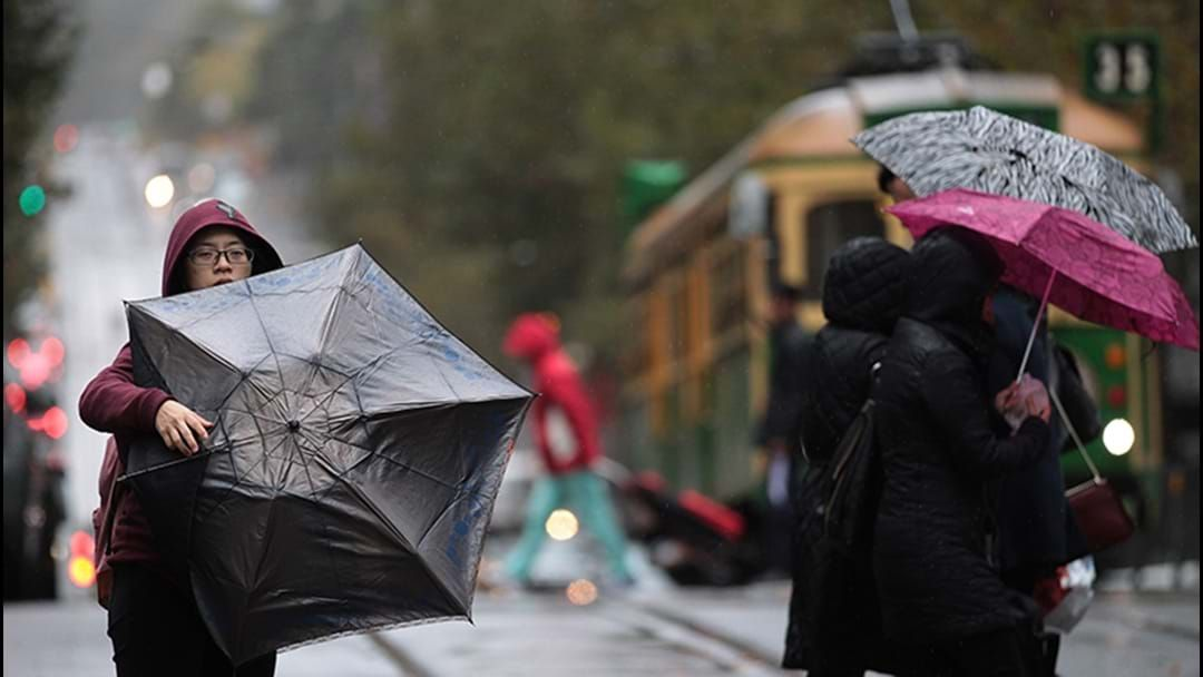 Article heading image for Parts Of Melbourne To Cop A Month's Worth Of Rain In One Day Today