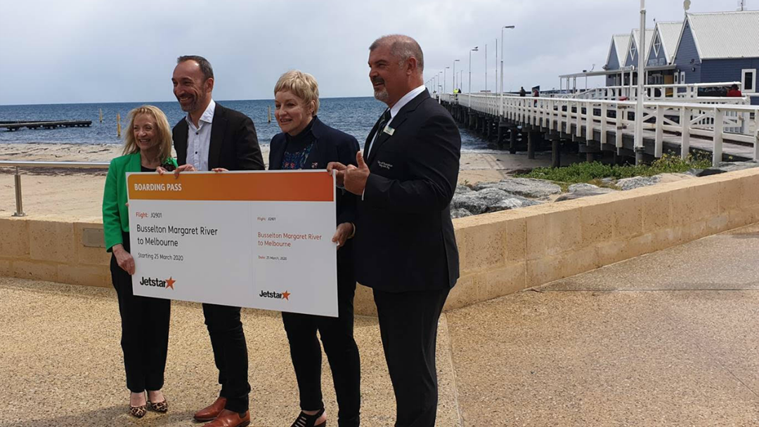 Article heading image for CONFIRMED: Jetstar Flights From Busselton To Melbourne From March 2020