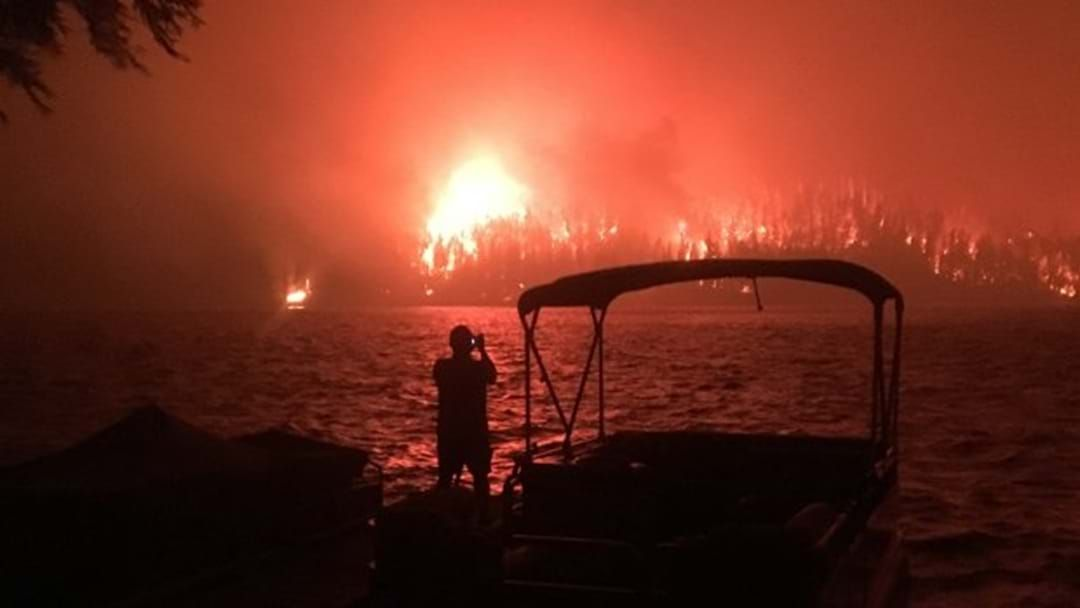 Article heading image for Gutsy Aussie Firefighters Are Helping Tackle Canadian Wildfires