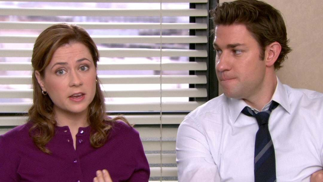 Article heading image for The Office's Jim & Pam Are Feuding & Our Hearts Are Breaking