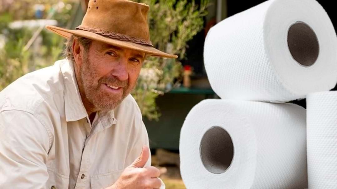 Article heading image for BEST OF 2020: Russell Coight's Hilarious Advice On Overcoming The Australian Toilet Paper Shortage