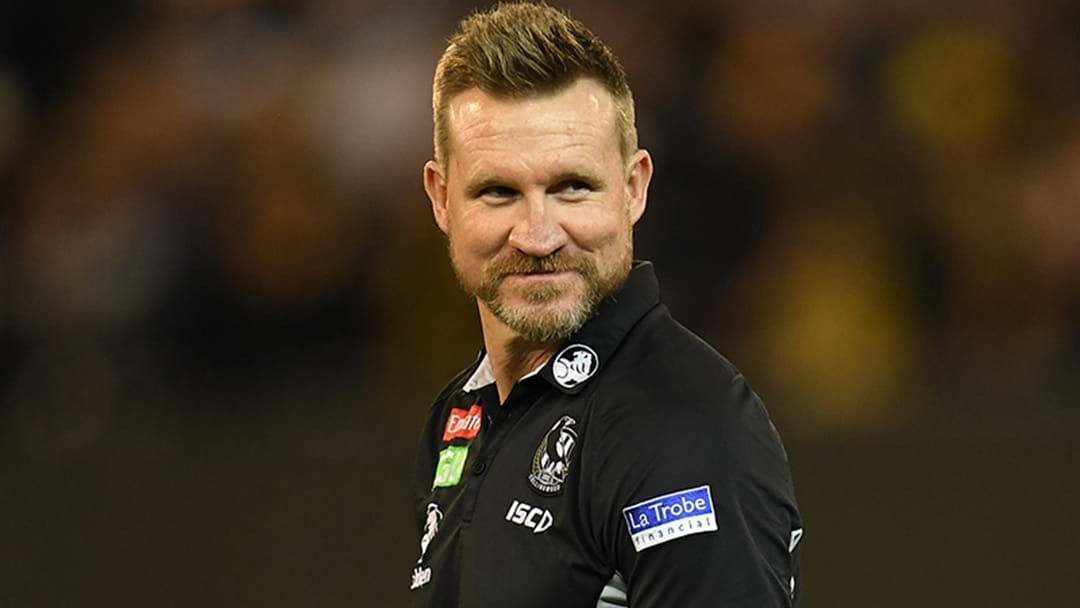 Article heading image for Tom Browne Says That Nathan Buckley Will Formalise A New Contract With Collingwood Soon