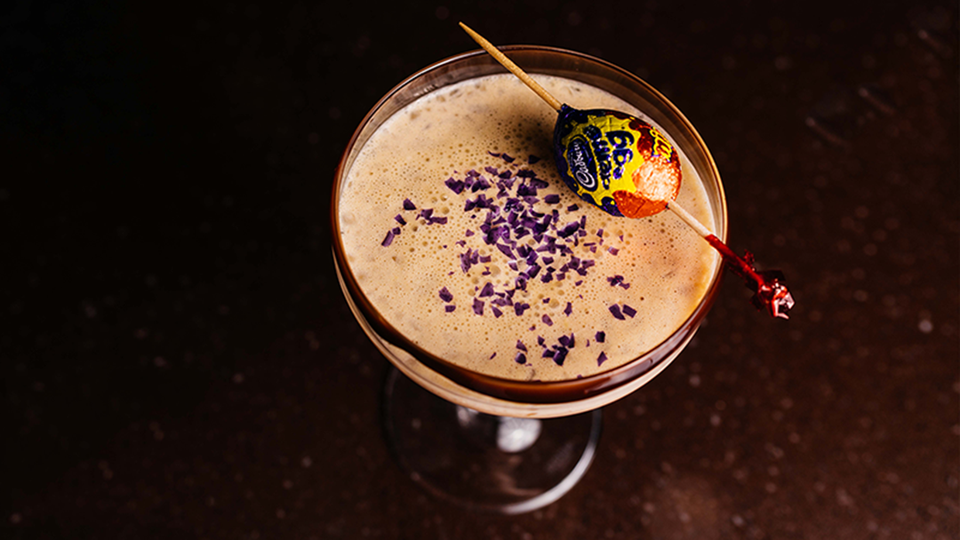 Article heading image for You Can Now Get Crème Egg Martinis In Melbourne