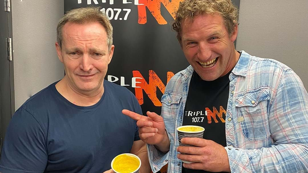 Article heading image for Rob Forced Paddy To Try A Turmeric Latte