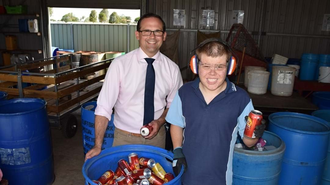 Article heading image for Clifford Park Special School Cashes in with Containers for Change