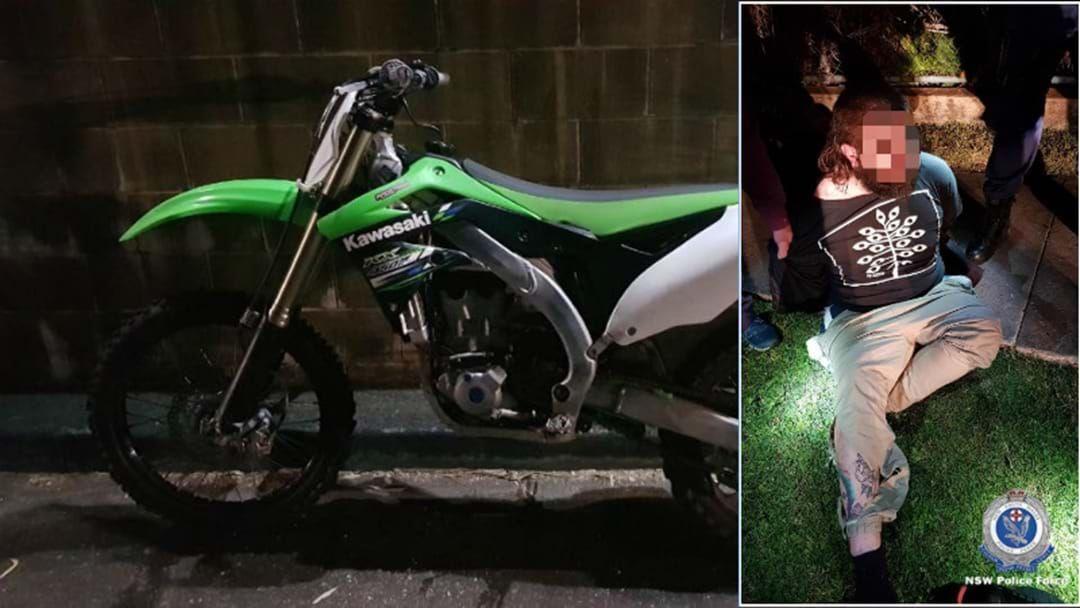 Article heading image for  Police Find Replica Gun Following Dirt Bike Joyride
