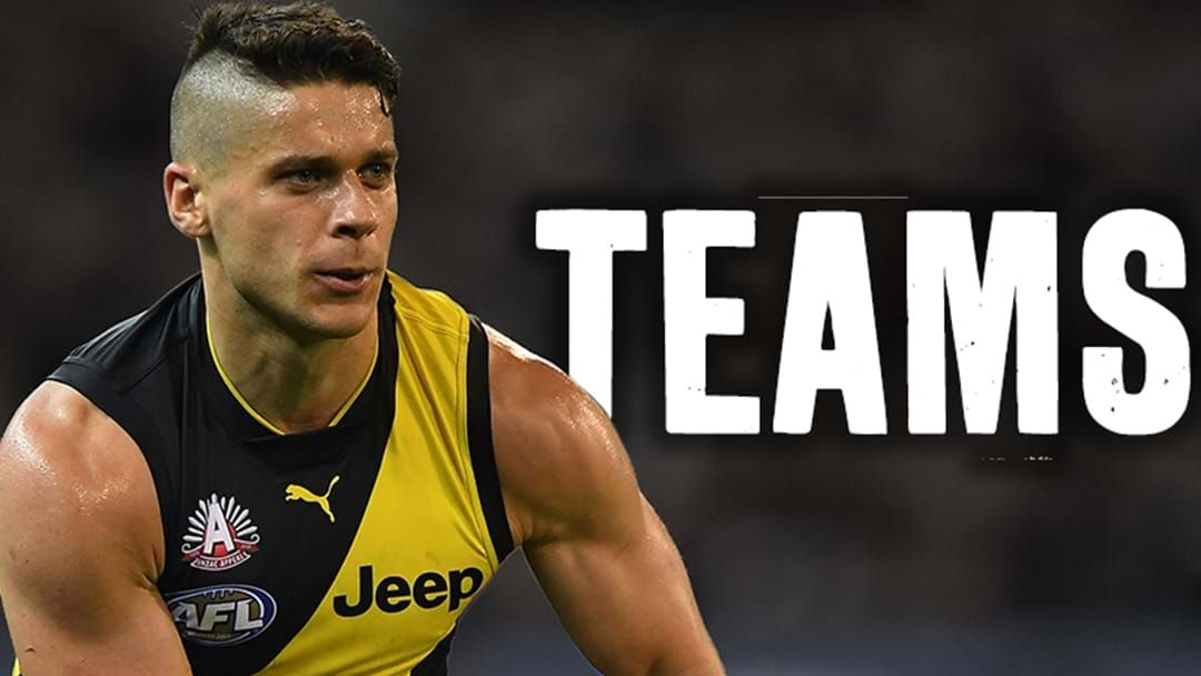 Article heading image for AFL Teams: Round 15, 2018