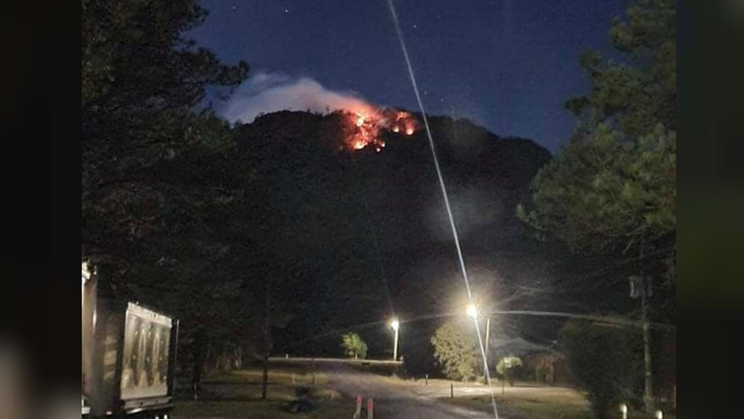 Article heading image for Big Mountain Overlooking Bulahdelah On Fire