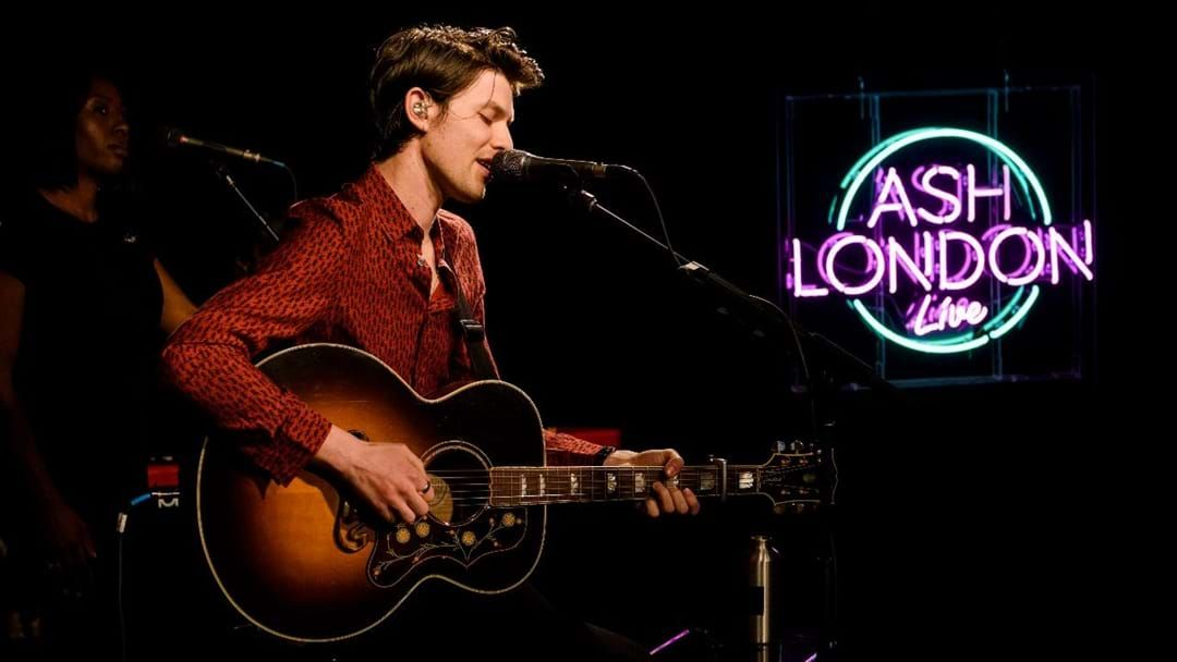 Article heading image for Here's What Happened When We Got Live & Up Close With James Bay