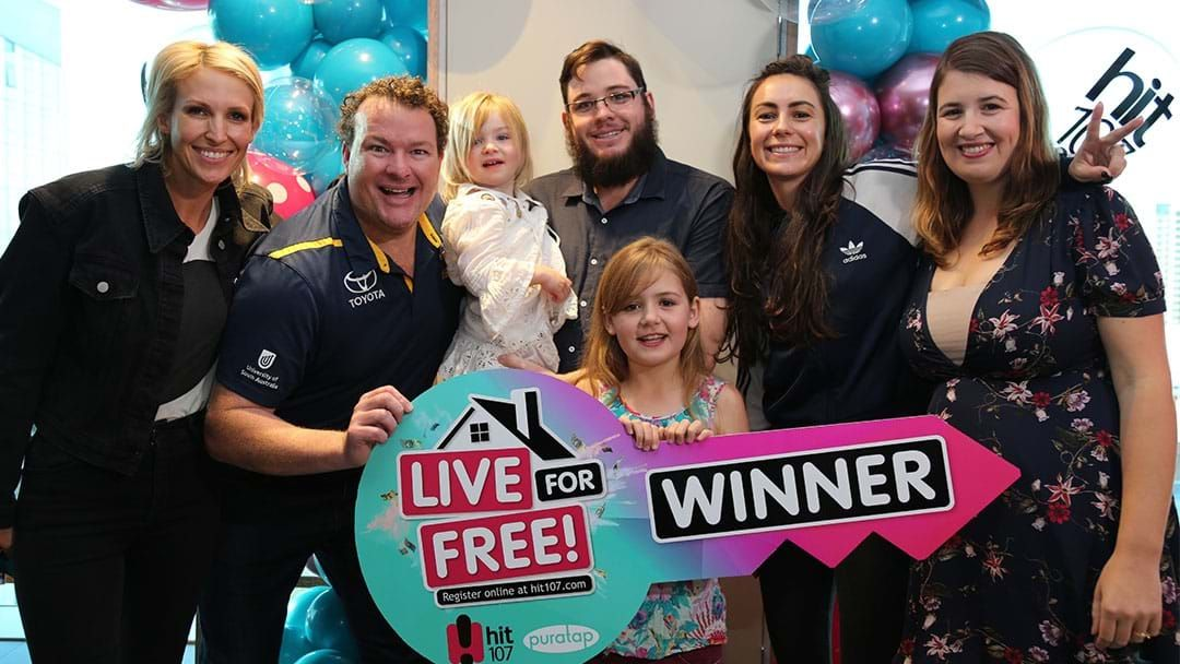 Article heading image for The Moment An Adelaide Family Won An Entire Year Mortgage Free!