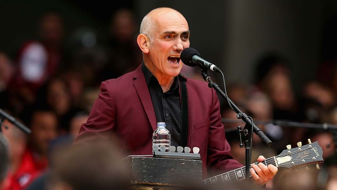 Article heading image for Paul Kelly Just Performed The Best AFL Grand Final Show