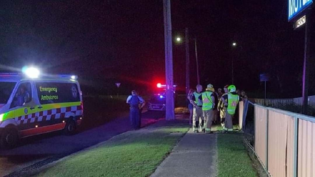 Article heading image for A Crash In Wyong Last Night Sees Car Smash Into Motel