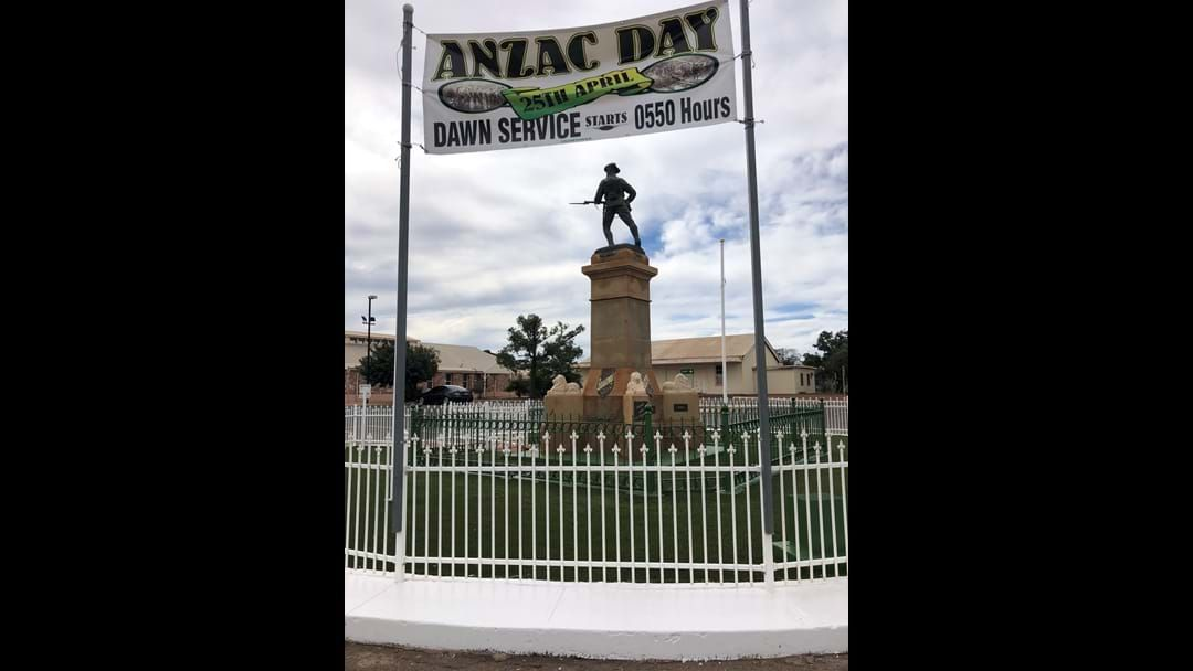 Article heading image for ANZAC Services for Goldfields