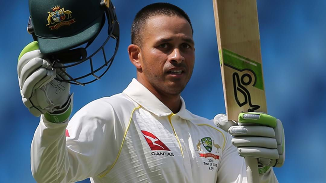 Article heading image for Usman Khawaja Outlines His International Cricket Aspirations