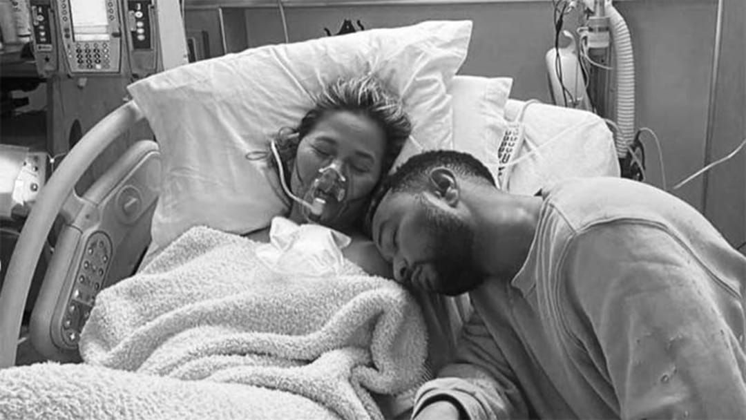 Article heading image for Chrissy Teigen Opens Up About The Loss Of Her Baby Boy In An Emotional Essay
