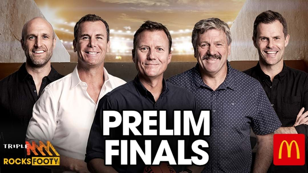 Article heading image for Triple M Footy On Air Coverage Finals Week 3 2020