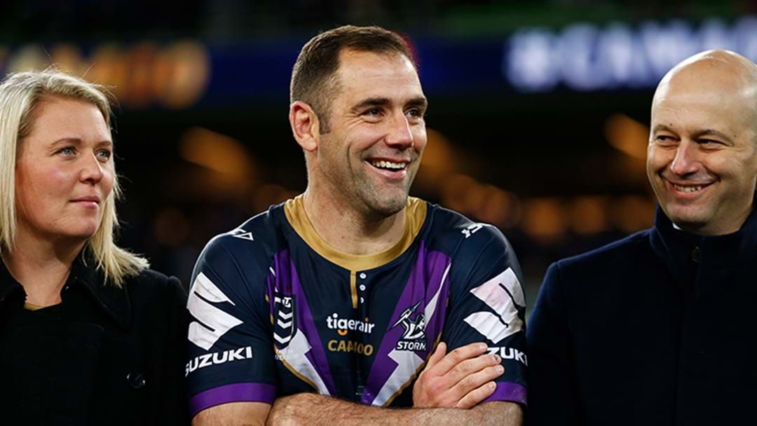 Article heading image for No Doubt About It, Cameron Smith Will Play Halfback In 2020