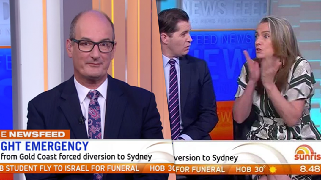 Article heading image for Gretel Killeen Dropped The F-Bomb On Sunrise This Morning And Kochie Wasn't Having It