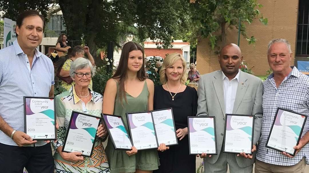 Article heading image for Greater Shepp 2019 Australia Day Award Winners announced