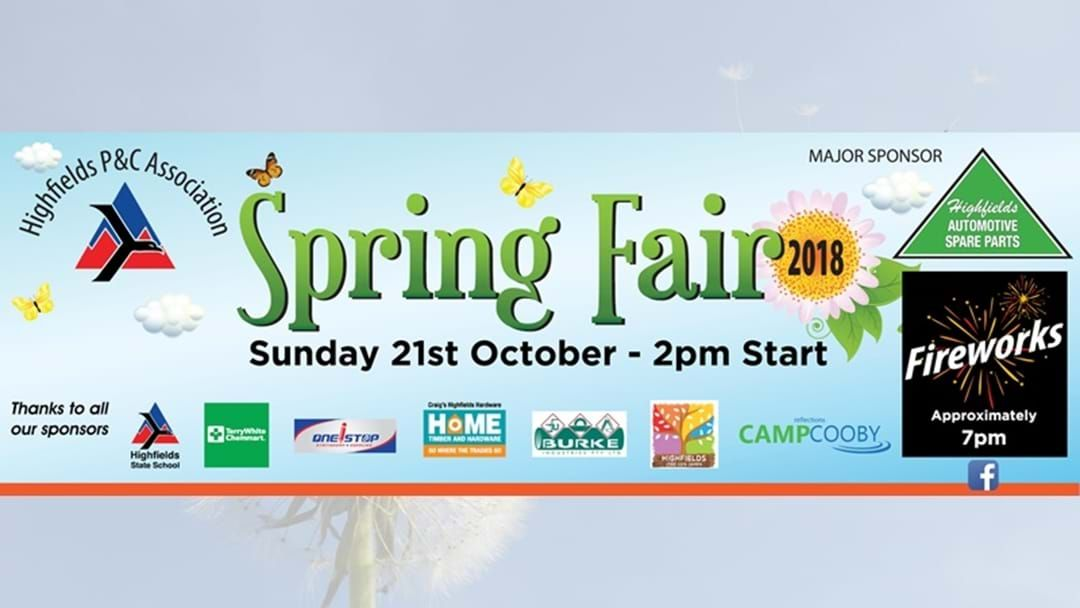 Article heading image for Highfields State School Spring Fair