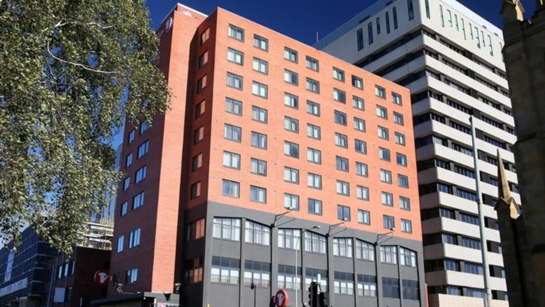 Article heading image for Covid Infected Man Flees Hobart's Hotel Quarantine