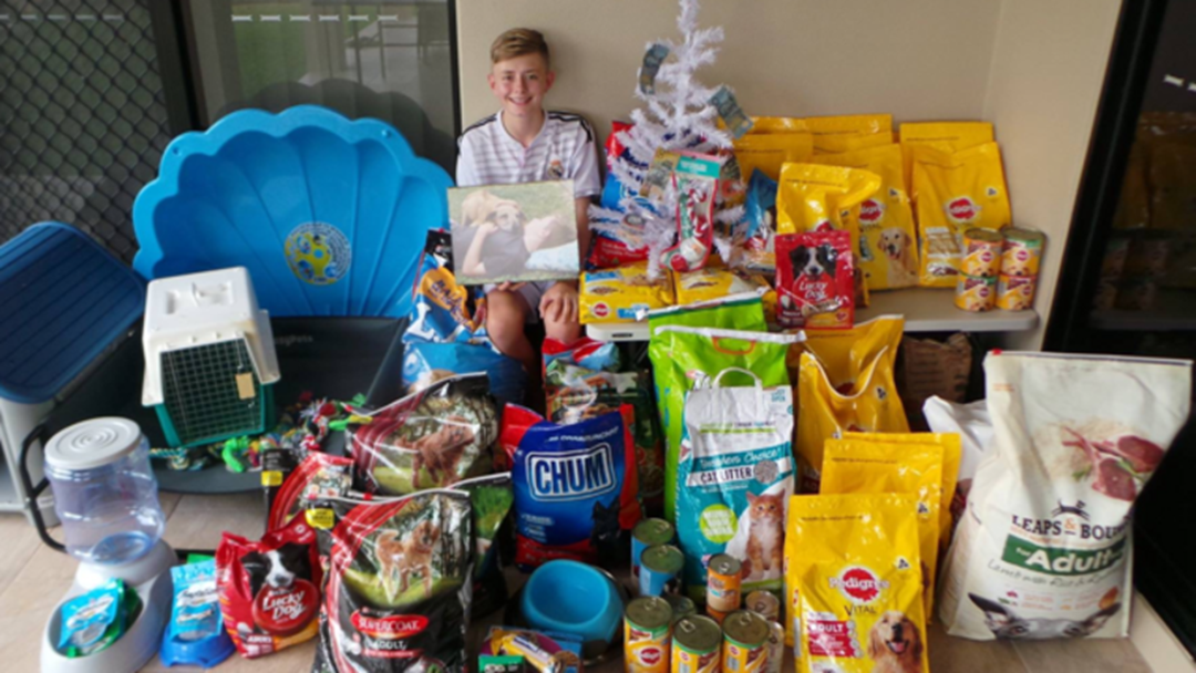 Article heading image for Townsville Teen Donated $1000 Of Goodies To RSPCA