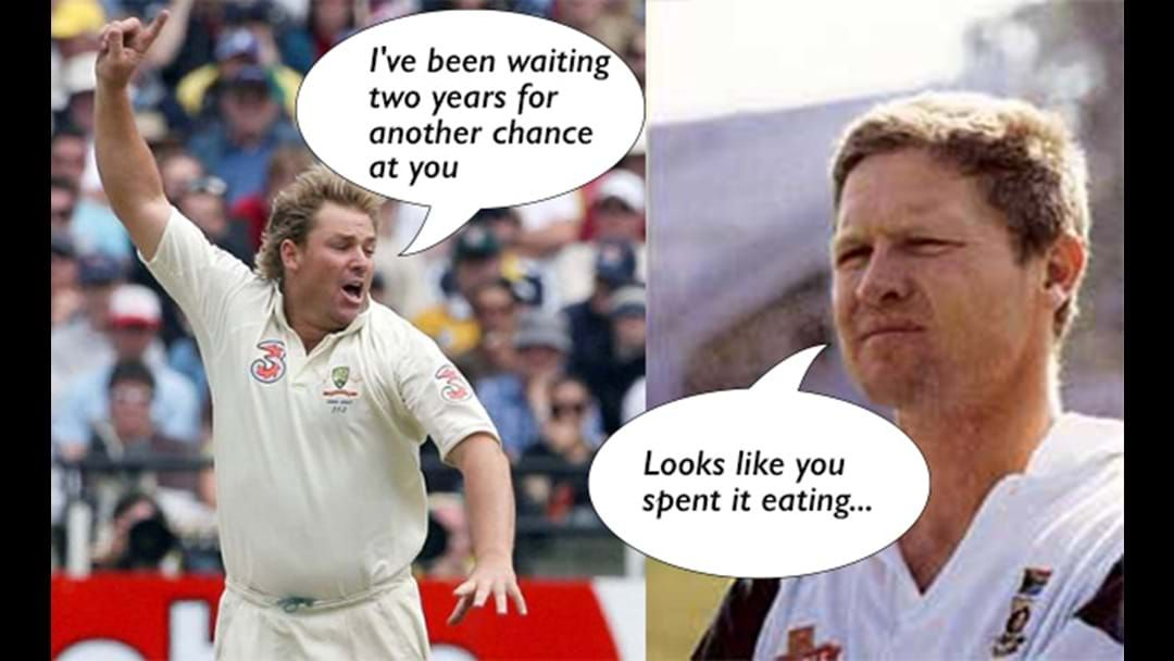 Article heading image for The 9 Greatest Cricket Sledges Ever