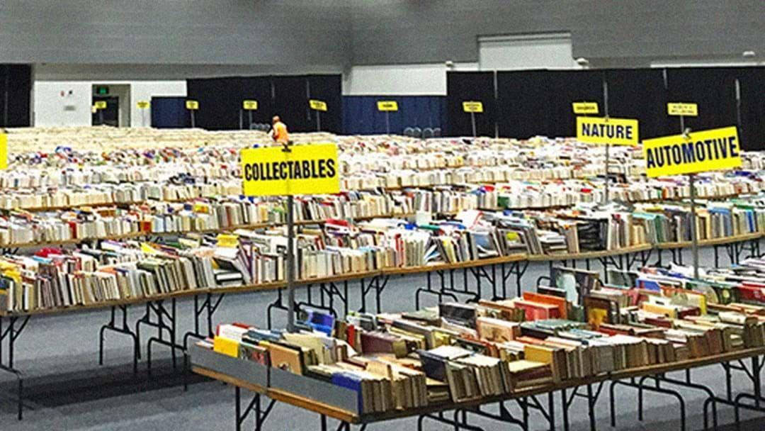 Article heading image for Brisbane's Lifeline Bookfest Returns