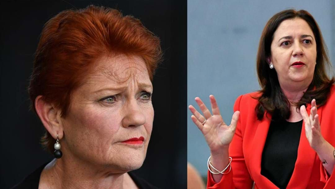 Article heading image for Pauline Hanson Calls QLD Premier A 'Dictator' & Threatens Legal Action If Border Not Opened
