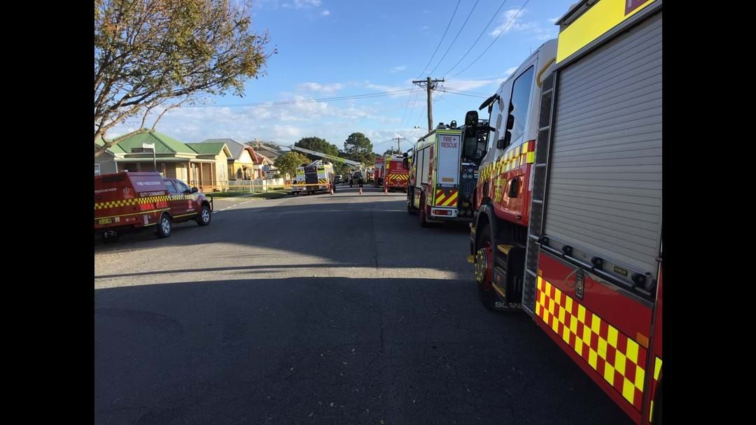 Article heading image for Fire Engulfs Mayfield Townhouse