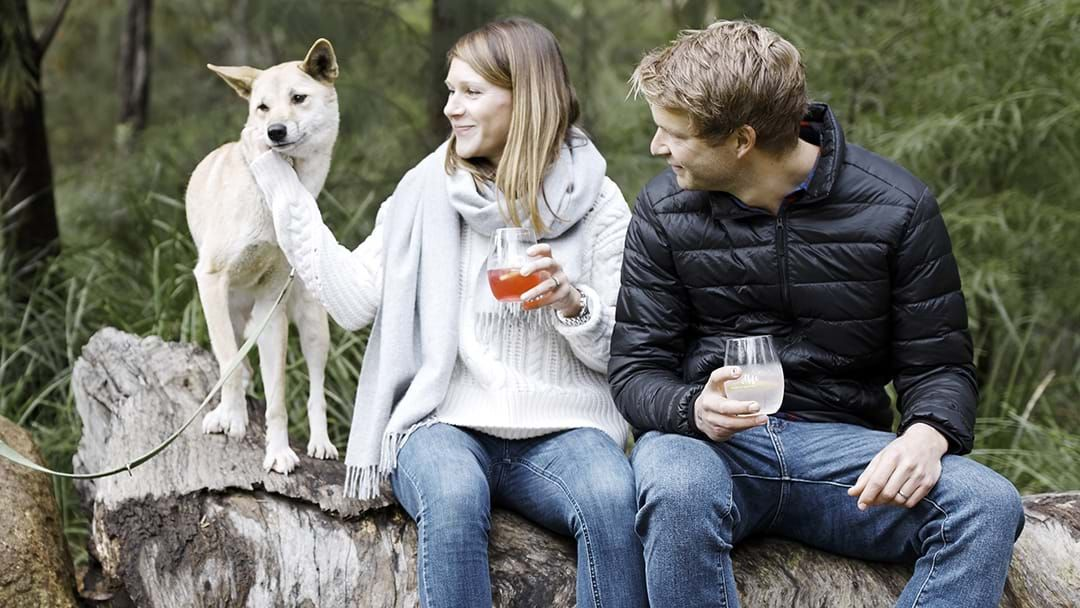 Article heading image for You Can Hang Out With Animals While Drinking Wine At This Weekend Festival