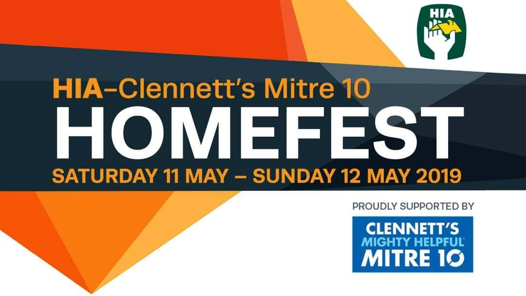 Article heading image for HIA-Clennett's Mitre 10 Homefest